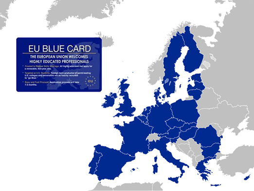 Carte bleue Européenne