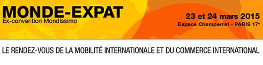 Monde Expat : 23 et 24 mars 2015