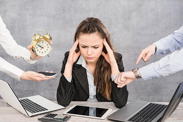 Le burn-out ou syndrôme d'épuisement professionnel