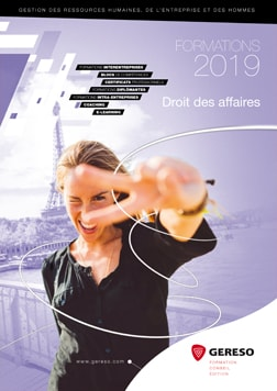 Catalogue GERESO Droit affaires